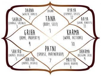 vedic astro chart